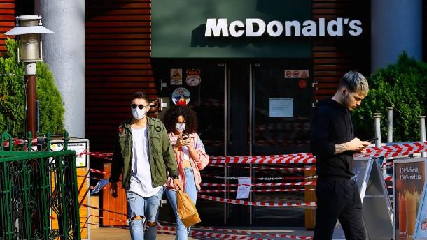 McDonald's unterstützt Restaurantbetreiber