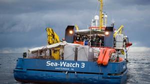 Schiff der Sea-Watch ist wieder frei