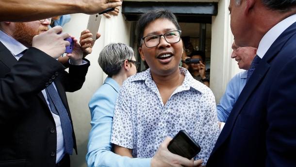 Burma lässt Reuters-Reporter nach über 500 Tagen Haft frei
