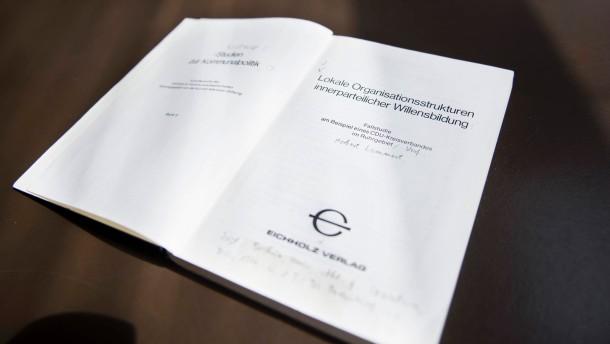 Opposition verteidigt Lammert gegen Plagiatsvorwurf