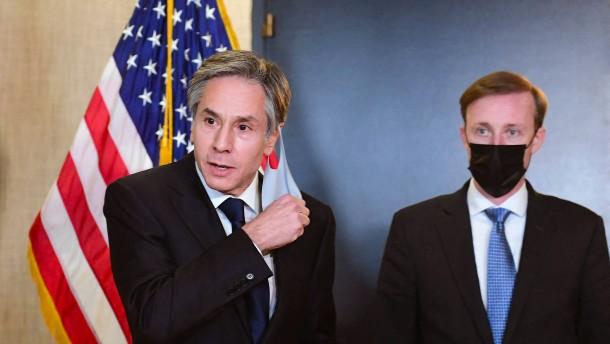 Washington fordert Gegenleistungen für den Sanktionsverzicht