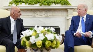 Biden verspricht Hilfe für Afghanistan auch nach Truppenabzug
