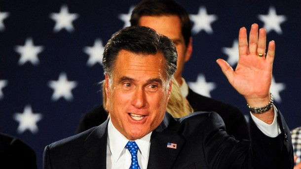 Romney gewinnt mit acht Stimmen Vorsprung