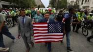Der bekannte Ultrarechte Jason Kessler gehört zu den Demonstranten.
