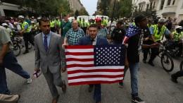 Ultrarechte bringen nur wenige Dutzend auf die Straße