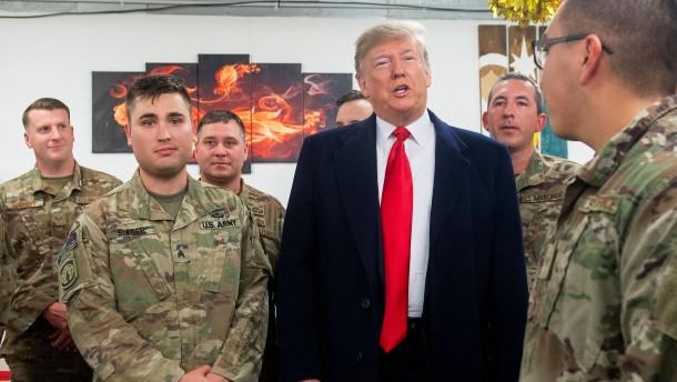 """""""Die Vereinigten Staaten können nicht länger Weltpolizist sein"""""""