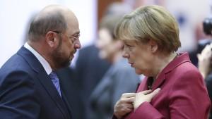 SPD in Umfragen stabil über 30 Prozent
