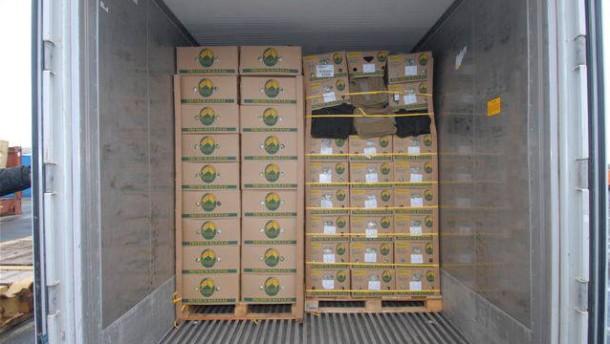 Behörden finden 120 Kilo Kokain