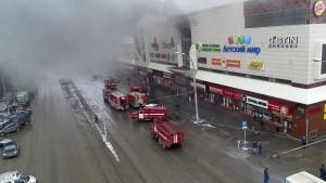 Mindestens 64 Tote nach Brand in sibirischem Einkaufszentrum