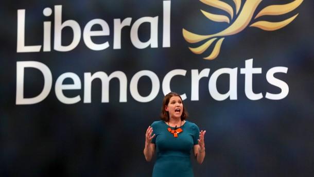 Britische Liberaldemokraten für neues Brexit-Referendum
