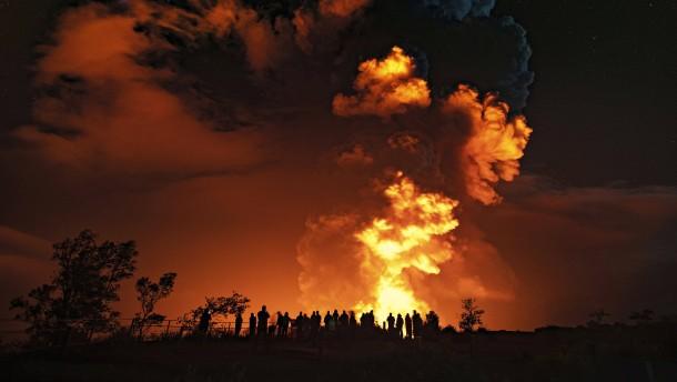 Lava-Strom des Kilauea-Vulkans hört nicht auf