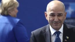 Barley vergleicht Sloweniens Ministerpräsident mit Viktor Orbán