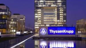Die Freude über Thyssen-Krupp verpufft