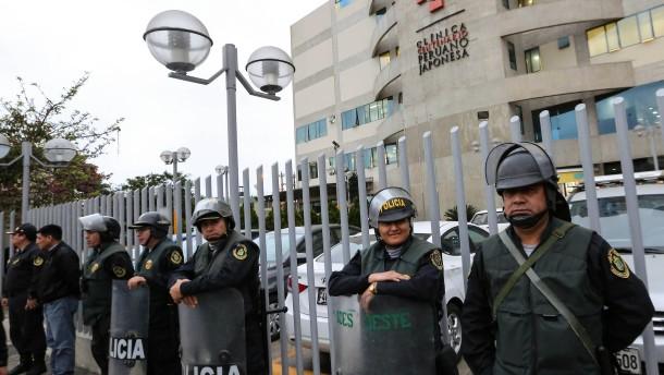 Ex-Präsident von Peru im Krankenhaus