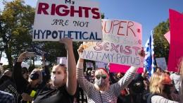 Tausende protestieren gegen Trump und Barrett-Nominierung
