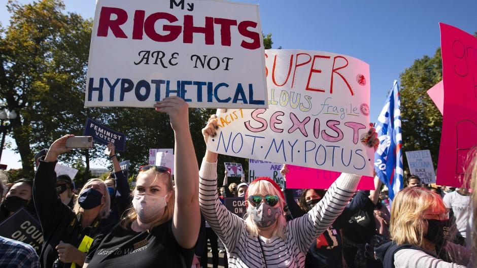 """""""Rechte sind nicht hypothetisch"""": Eine Frau auf dem Women's March in Washington"""