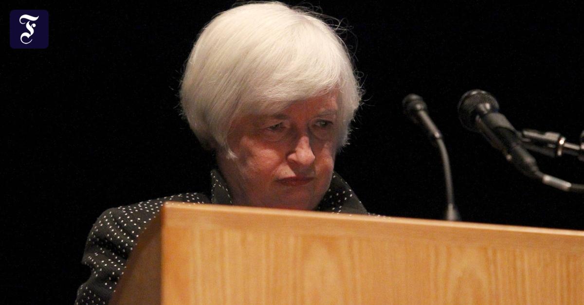 Janet Yellen: Ärzte untersuchen Notenbankchefin nach Redeabbruch