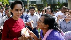 In Burma läuft die Schicksalswahl