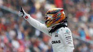 Hamilton schnappt Vettel die Pole Position weg