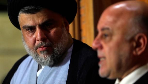 Sadr und Abadi sichern sich Mehrheit für Regierungsbildung