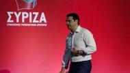 Syriza-Sonderparteitag soll über Sparpolitik entscheiden