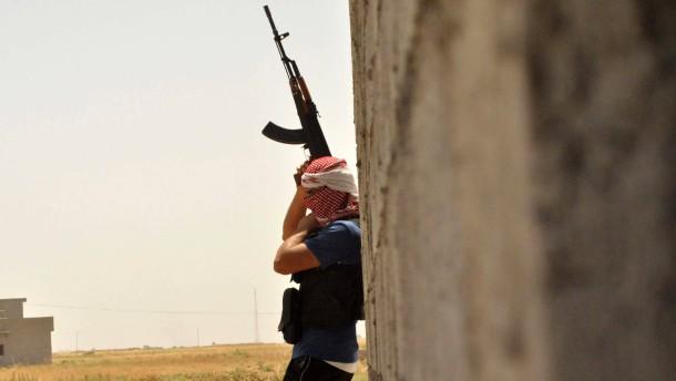 Rebellen übernehmen Kontrolle in Chemiewaffenlager