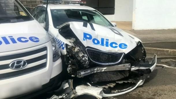 Drogen-Van kracht in australische Polizeiautos