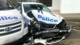 Drogenkurier rast mit 270 Kilogramm Amphetaminen in Polizeiauto