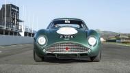 Der Aston Martin DB4 GT aus den 60er Jahren ist ein schönes Sammlerstück.