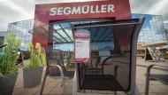 die Outdoor-Abteilung von Segmüller
