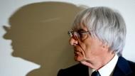 Schatten an der Wand: Wie gehts weiter für Bernie Ecclestone?