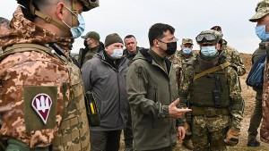 Ukraine bleibt trotz russischen Truppenabzugs skeptisch
