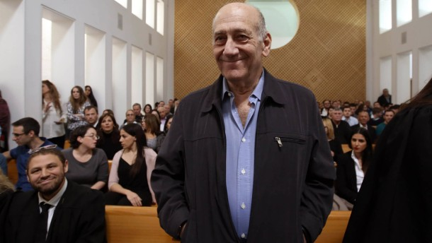18 Monate Haft für früheren Regierungschef Olmert