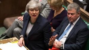 May will abermals über ihr Abkommen mit der EU abstimmen lassen