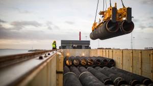 Gaspipeline darf vorerst weitergebaut werden