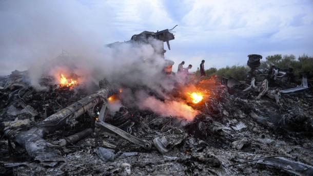 BND: Prorussische Separatisten schossen Passagiermaschine ab