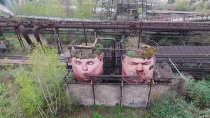 Kunst trifft auf Industriedenkmal