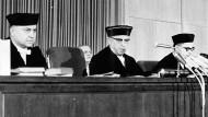 Die Richter im Auschwitz-Prozess im Januar 1964