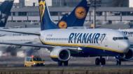 Harfe kontra Kranich: Ryanair stockt Zahl der Flüge von und nach Frankfurt deutlich auf