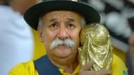 Fan-Schmerz: Clovis Fernandes muss mit ansehen, wie Brasilien bei der WM 1:7 gegen Deutschland verliert.