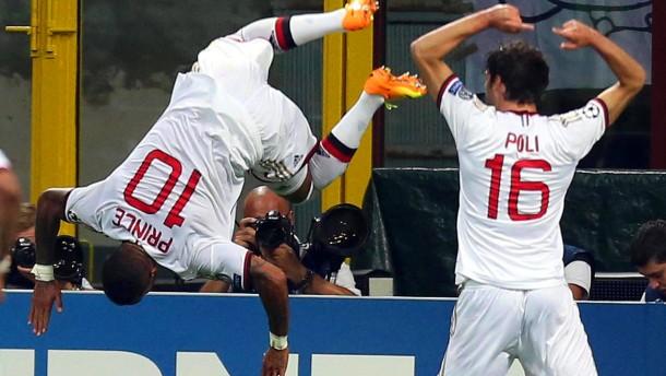 AC Mailand in der Gruppenphase - Celtic macht 0:2 wett
