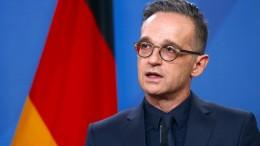 Maas kritisiert Rednerin für Vergleich mit Sophie Scholl