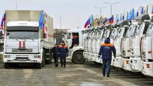Russland schickt wieder umstrittenen Hilfskonvoi