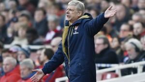 Trainer Arsène Wenger spaltet den FC Arsenal