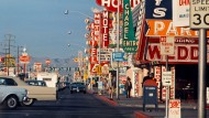 Autoansicht des Strips von Las Vegas