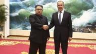 Lawrow lädt Kim nach Russland ein