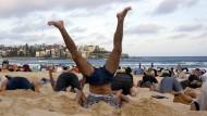 Australier protestieren gegen Regierung