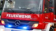 Brand in Psychiatrie: Ermittler gehen davon aus, dass ein Patient das Feuer gelegt hat.