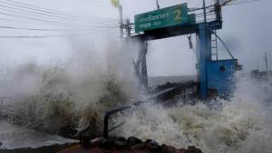 """Thailand erwartet Tropensturm """"Pabuk"""""""