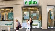 Mit einer Discountstrategie erfolgreich: E-Plus-Filiale in Frankfurt